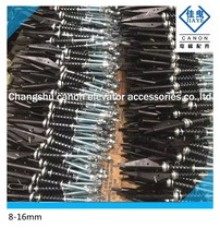 Factory price Elevaotr parts steel rope attachment/ wire rope fastening 8mm/10mm/12mm/13mm fasteners