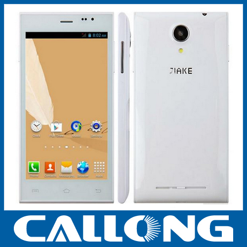 Cheap China cell phone 5inch dual core Dual sim android mobile phone JIAKE JK13 MTK6572