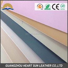 High quality breathable pu pig skin leather for shoe lining
