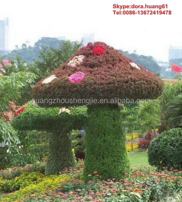 H080606 fake mushroom outdoor mushroom garden decor christmas decoration mushroom
