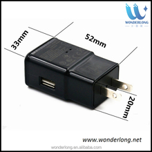 Full HD1080p Wireless WIFI Spy Camera M2 Mini AC Plug Charger NO PIN or HOLE of Lens Spy Invisible DVR Video Cam HD DV