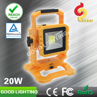 2015 newest transformer 20w Rechargeable LED floodlight with 5v 2A USB Output for cellpone charging