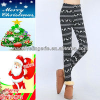 Black Color New Winter Stylish Leggings for Ladies Warmer Thicken Fabric Legging