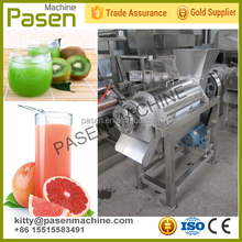 Top qualité à vis extracteur de jus / gingembre en acier inoxydable extracteur de jus / industrielle fruits presse-agrumes