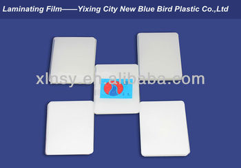A4 paper size clear Laminating Pouch Film (PET/EVA)