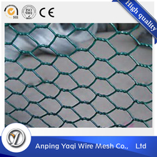 Metal fence animal cage fence bwg 16 galvanized hexagonal wire mesh