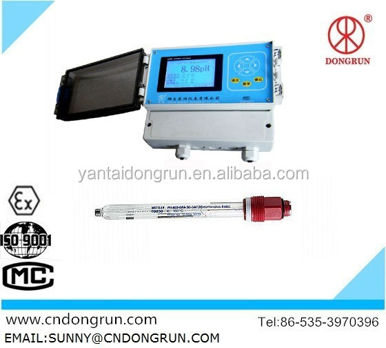 PHS-8B Portable Measurement analysis instruments PH/ORP controller,PH meter online /manufacturer