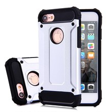 Best-selling Protective Slim Armor Heavy Duty Metal Phone Case for iphone 7