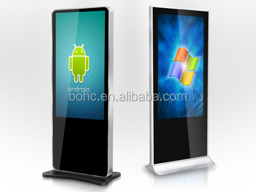 42 Inch Floor-Standing digital signage touchscreen monitor