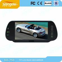 "7"" digital rear view in car monitor with camera"