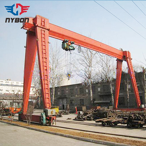 MH type outside electric hoist gantry cranes 25t used in steel plant