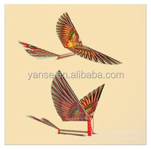 Cheap price fly bird Assembled in stock wholesale DIY toy rubber bands powerd fly bird handmade