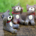 Zakka Resin animal statues cat decoration hot new products for 2016
