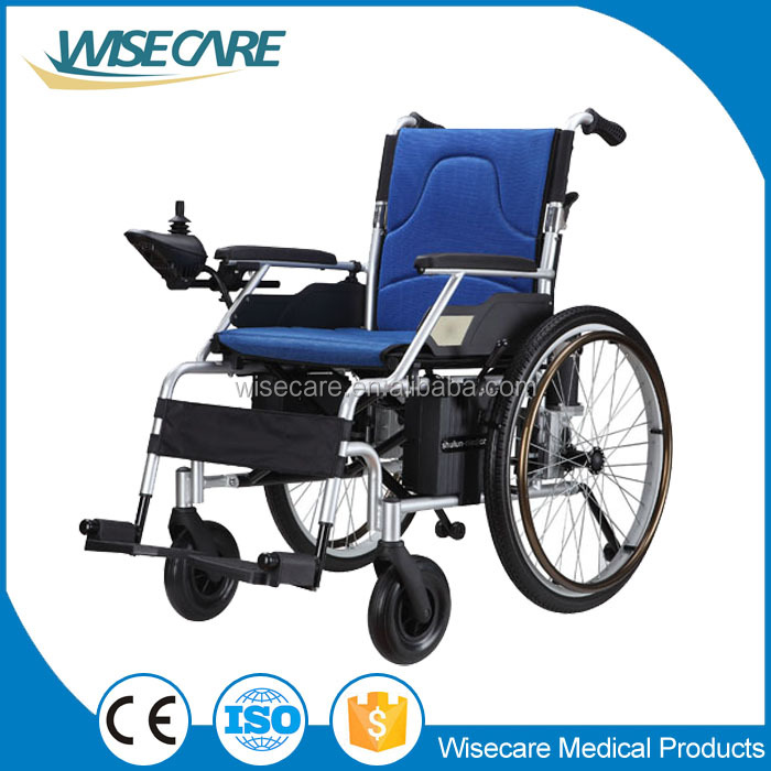 cheap price light weight alum foldable power electric wheelchair