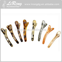 New style factory price cheap plastic crocodile hair clips