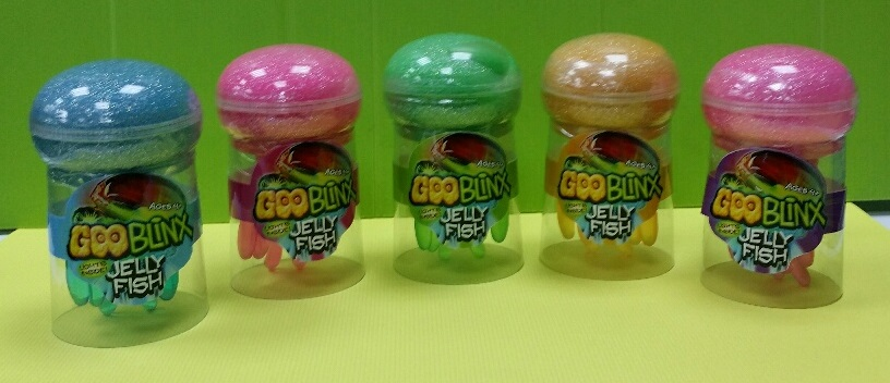 Goo Blinx Jellyfish putty toy