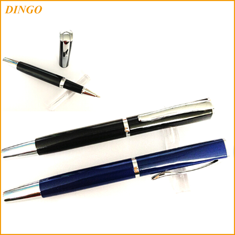 logo printing unique metal ball pen promotional ballpoint pen with customized color