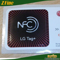NFC Tag chip in plastic non-standard use in PC wireless communication control toolkit smart phone
