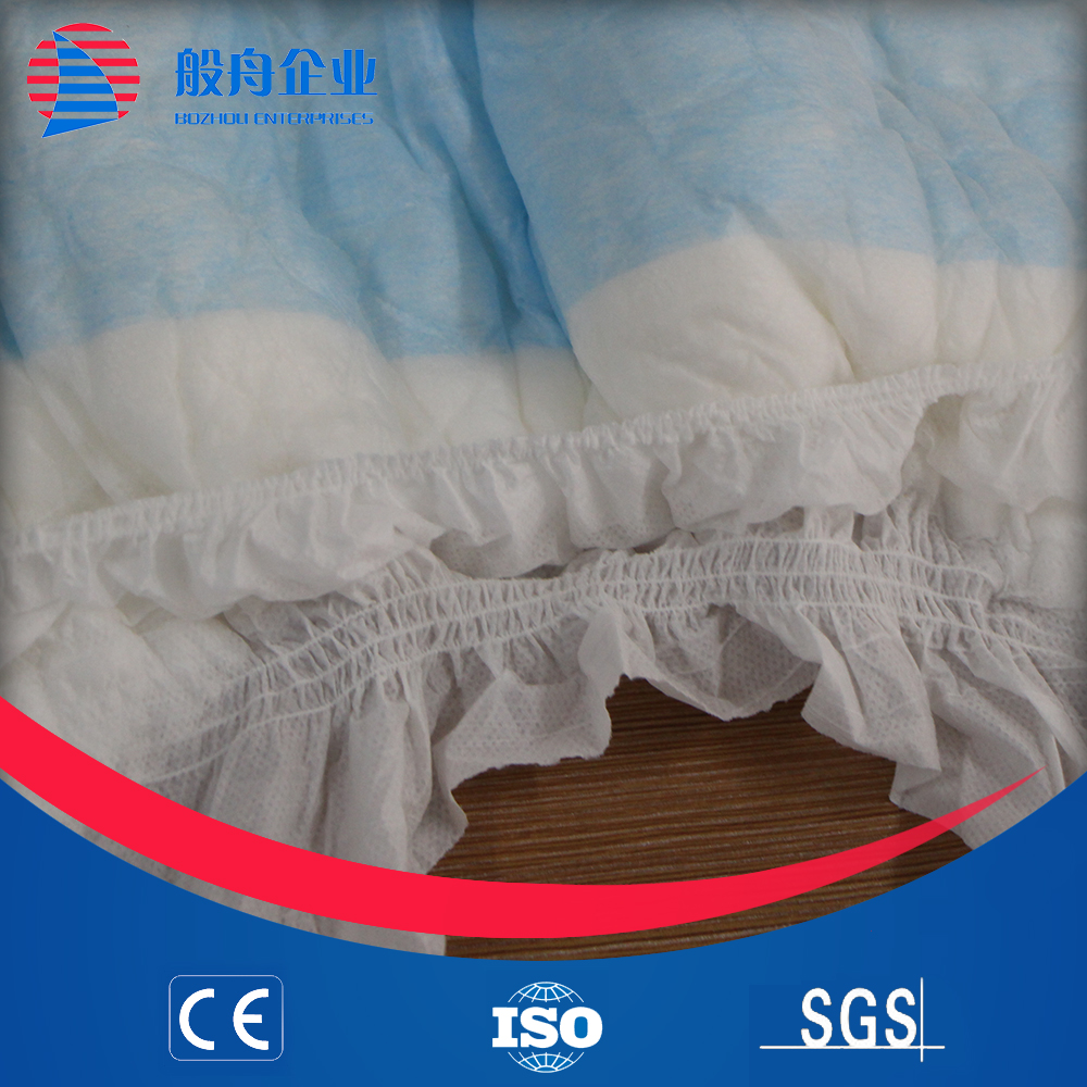 3d leak prevention channel, anti-leak anti-leak and soft breathable absorption baby diaper