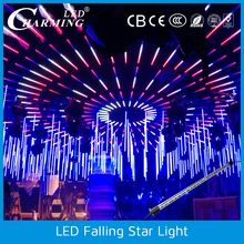 3D effect led star falling light DMX disco lighting led color tube
