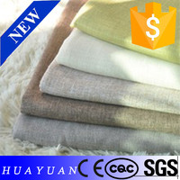 pure color linen fabric for the women's clothing