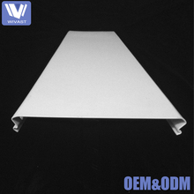 2017 Best selling aluminum c-shaped strip false ceiling , metal fall pop ceiling designs for hall