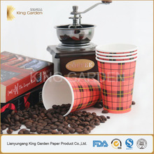Top factory produce 180ml hot drink paper cup