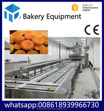 HYPXPD-800 gas/electric automatic cake making machine with dough mixer cake production line cake mixer machine