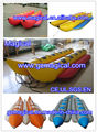 Custom Inflatable water banana boat inflatable banana boat