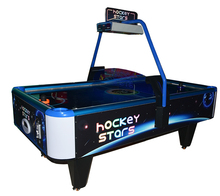 air hockey stars table top arcade game machine with electronic scoring