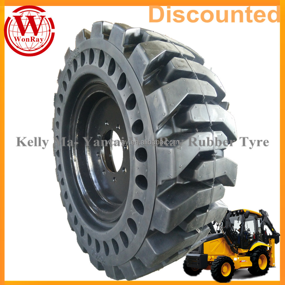 china solid tire factory 12-16.5 tractor tire