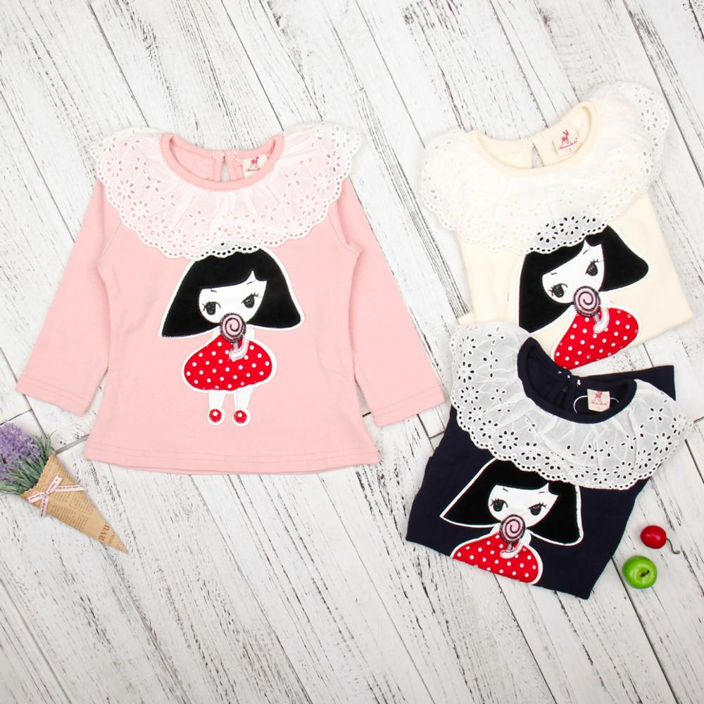 Baby Girl Clothes Lace Long Sleeve Pretti Kids Wears Ready Made Garments