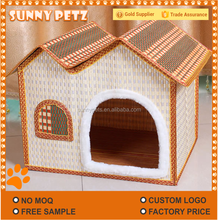 Pet Nest Dog kennel Bamboo Dog House