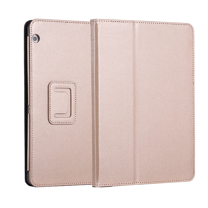 PU Leather Folio 2-folding Stand Tablet <strong>Cover</strong> with Stylus Holder For Huawei MediaPad T3 7.0 Inch Tablet Case