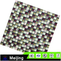 Popular kitchen wall backsplash strip backsplash stainless steel mosaic tiles for wall cladding from alibaba website