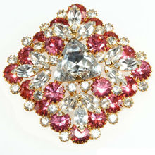 Wholesale Wedding Top Quality Factory Price Rhinestone Brooch