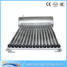 Slope Roof Compact Pressure Solar Water Heater With Heat PIpe