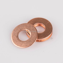 12x18x1mm flat copper washer motorcycle engine sealing gasket washer