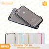 High Quality Cell Phone TPU Bumper + PC Matt Back Cover Case for iphone6/ iphone 6plus