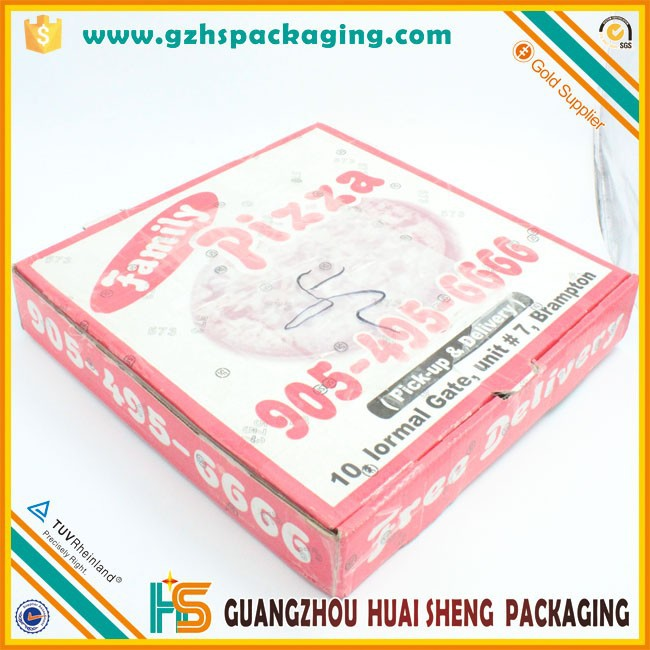Foldable Big Pizza Dinner Packing Boxes Wholesale