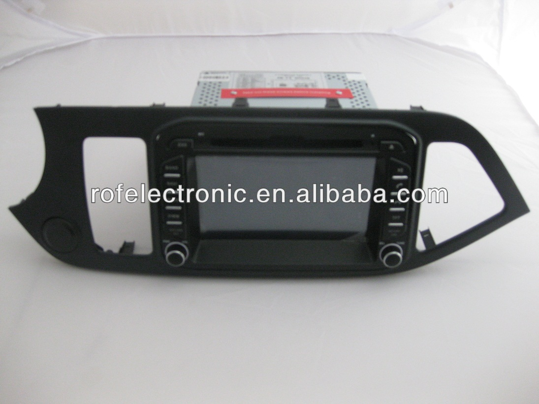 Car DVD Navigation System for KIA PICANTO MORNING 2011-2012