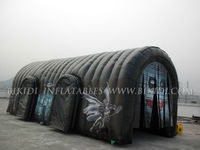 Black huge inflatable tent, giant tent for sale K5045