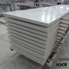 Joint invisible pure white artificial marble solid surface