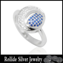 925 sterling silver Fashion High quality DF8884 mirco pave setting rings