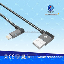 Right Angle USB to Right Angle Mini USB Cable USB MINI Jack Cable