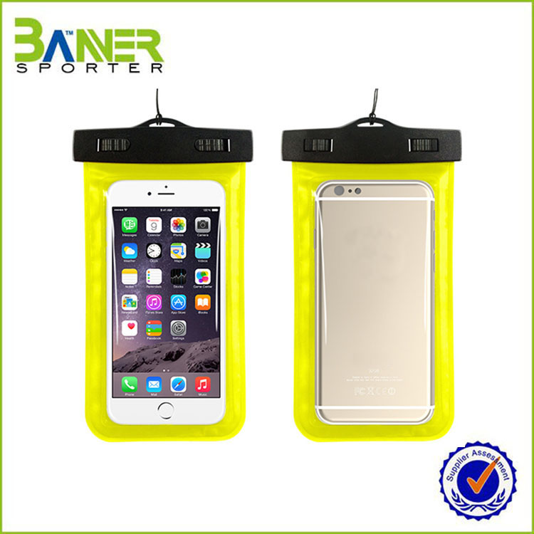 2016 pvc waterproof swimming bag,waterproof bag phone,water proof phone bag