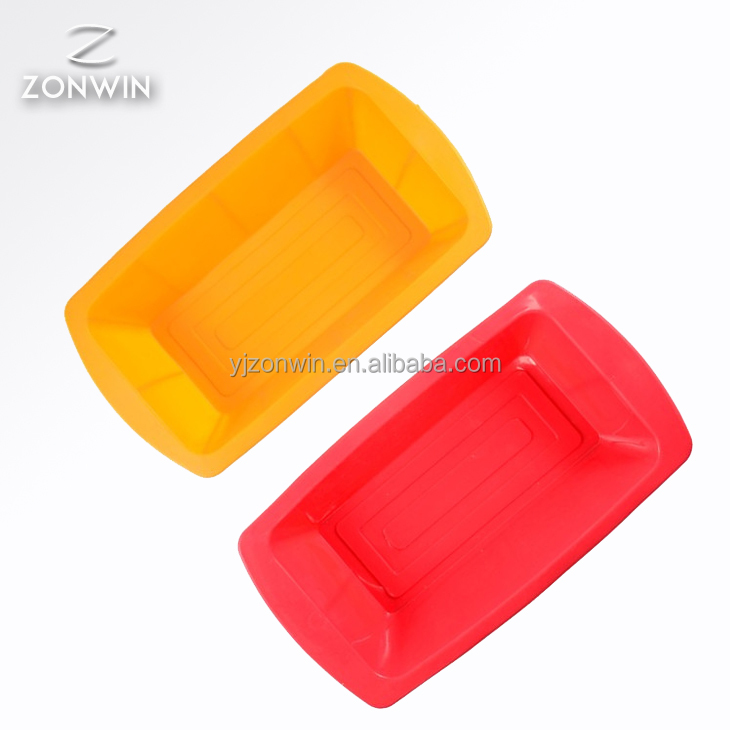 2017 Item B6-012 Rectangle Shape Silicone Cake Mould