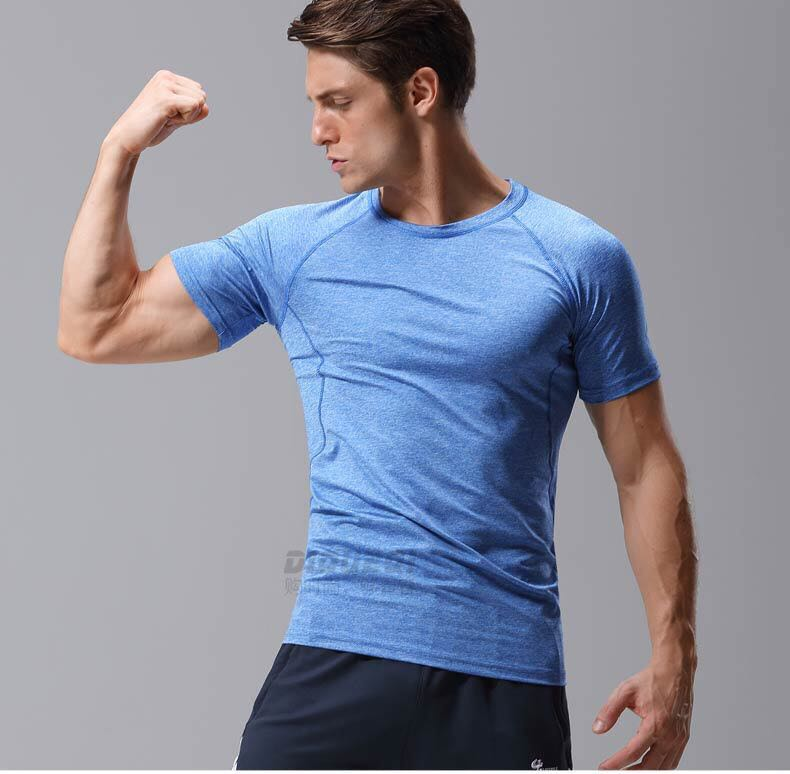 New product men sports wear seamless fitness gym clothing for male
