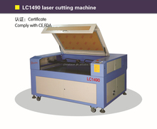 cut laser machines/thick acrylic laser cutter/ laser die cutting LC1490