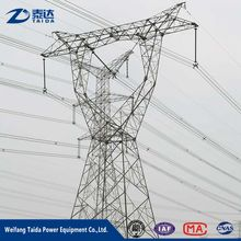 11kv 33kv 132kv 230kv Electric Steel Transmission Pole Structures of Design